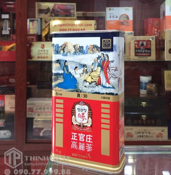 hong sam kho 6 tuoi joongang ginseng hop 300g hop thiec - han quoc (4)