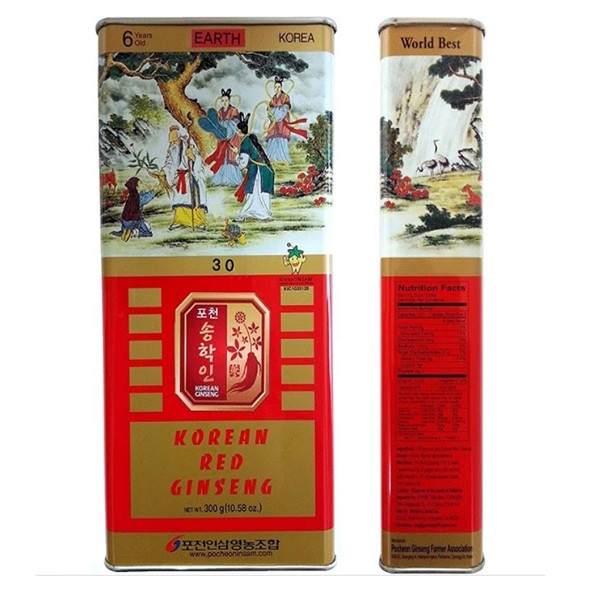 hong sam kho 6 tuoi joongang ginseng hop 300g hop thiec - han quoc (5)