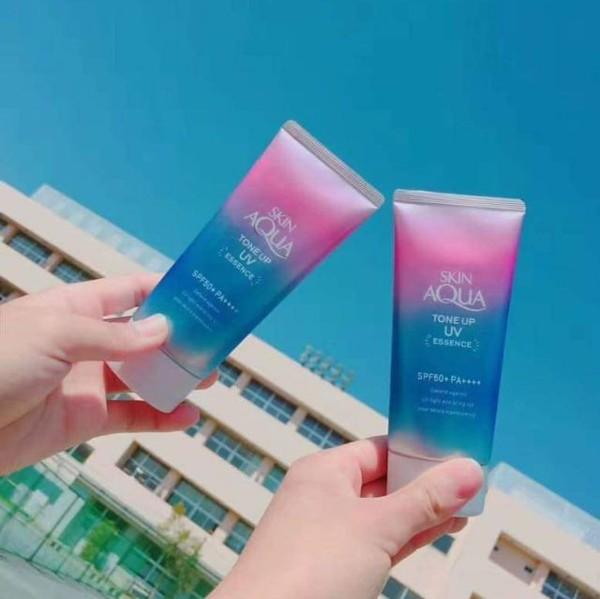 Kem chống nắng Skin Aqua Tone Up UV Essence SPF 50 Nhật