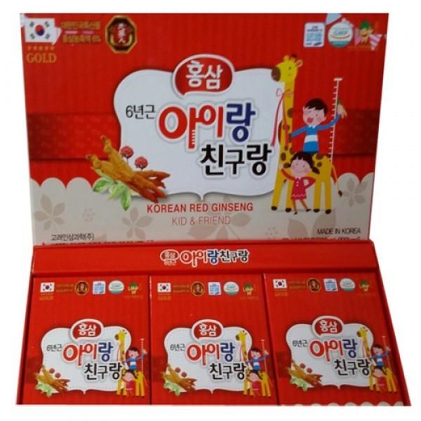 nuoc hong sam tre em korean red ginseng kid & friend - han quoc (3)