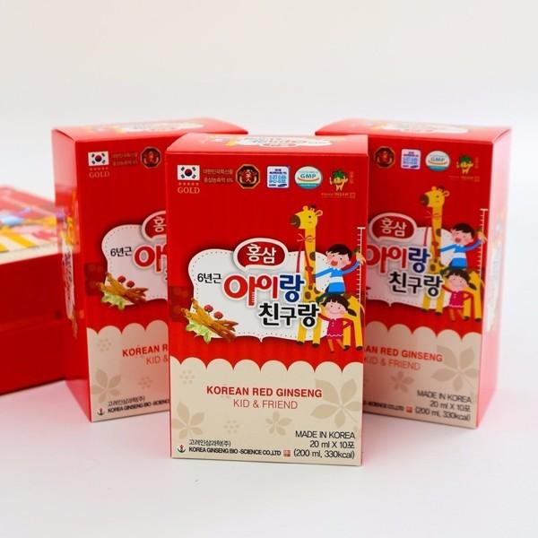 nuoc hong sam tre em korean red ginseng kid & friend - han quoc (5)