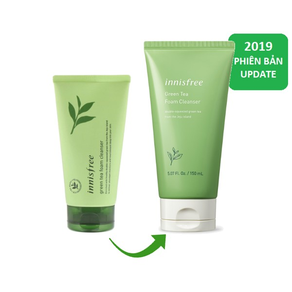 sua rua mat tra xanh innisfree green tea cleansing foam 150ml – mau moi (1)(1)