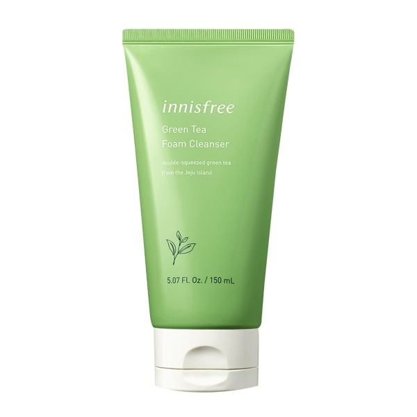 sua rua mat tra xanh innisfree green tea cleansing foam 150ml – mau moi (2)(1)