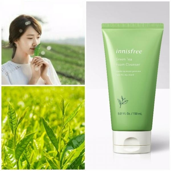 sua rua mat tra xanh innisfree green tea cleansing foam 150ml – mau moi (4)