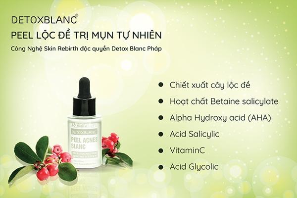 Serum Detox Blanc So 13 - Tri mun, trang da (3)