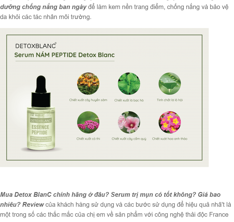 serum tri nam detox blanc so 12 - cong nghe essence peptide (1)