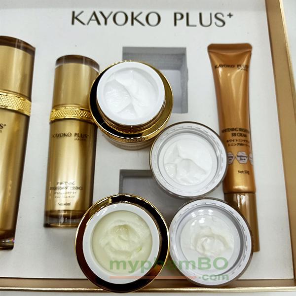Bo My Pham Kayoko Plus+ Vang 6in1 Moi - Nhat ban (2)