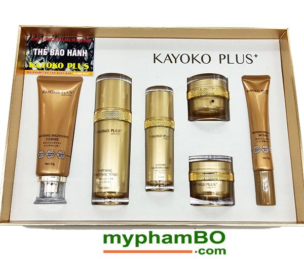 Bo My Pham Kayoko Plus+ Vang 6in1 Moi - Nhat ban (4)