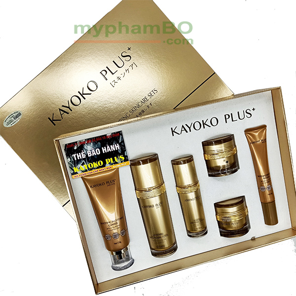 Bo My Pham Kayoko Plus+ Vang 6in1 Moi - Nhat ban (5)