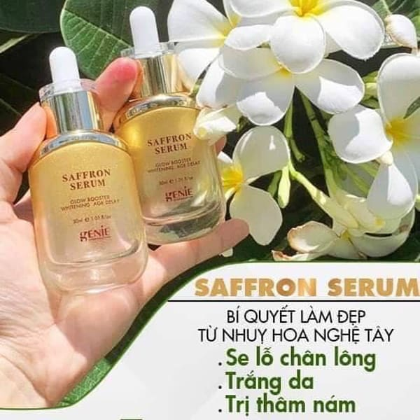 serum nhuy hoa nghe tay genie saffron serum 30ml han quoc (2)