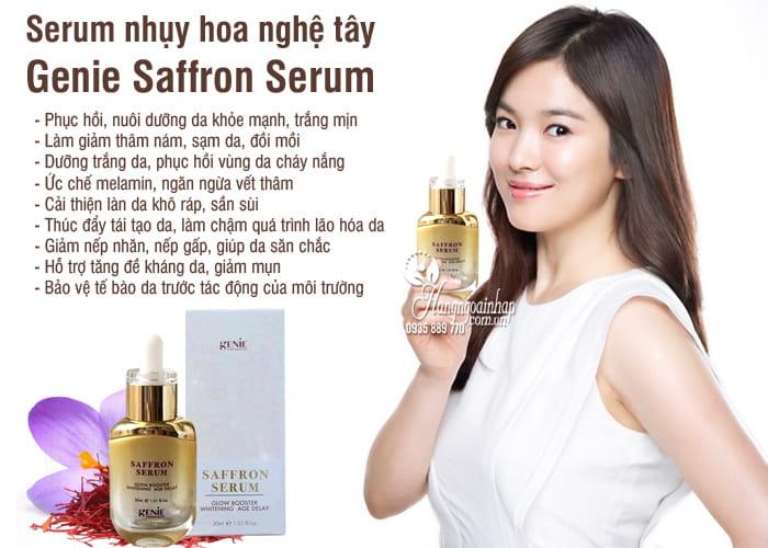 serum nhuy hoa nghe tay genie saffron serum 30ml han quoc (3)