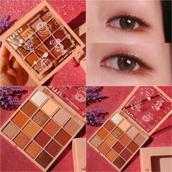 bang phan mat tutu 16 o - kaqi color eyeshadow palette 32g (1)