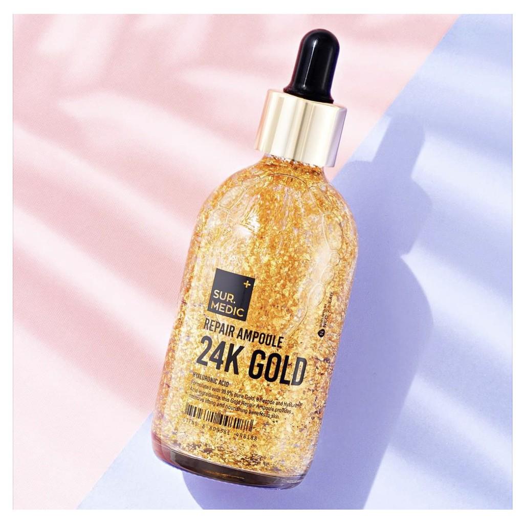 Công dụng của tinh chất vàng 24k Gold