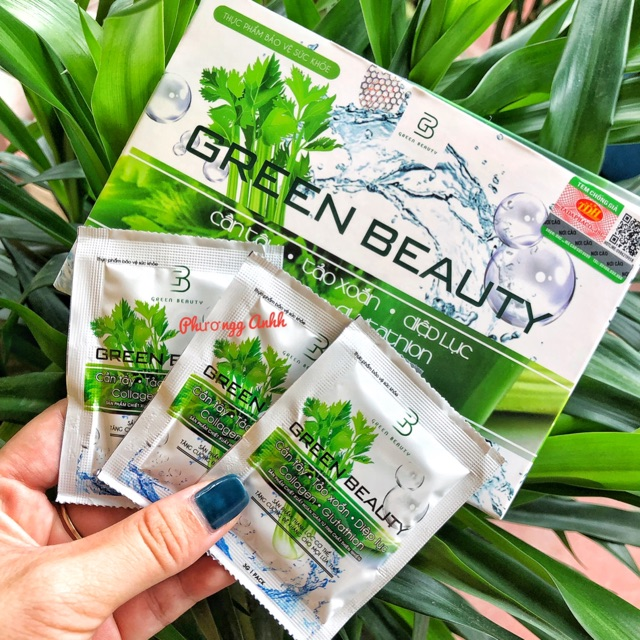 công dụng nước ép cần tây Green Beauty