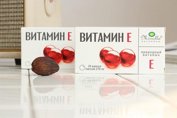Công dụng của Vitamin E Mirrolla Nga