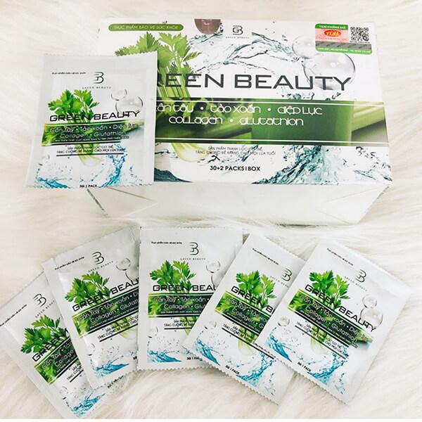 quy cách nước ép cần tây green beauty