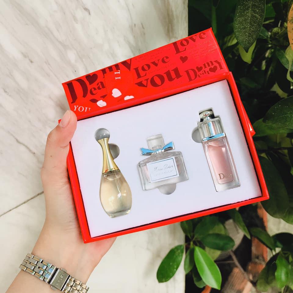 Review ba chai nước hoa Dior mini