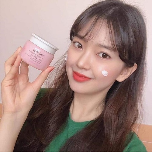 Review kem dưỡng trắng Innisfree Jeju Cherry Blossom