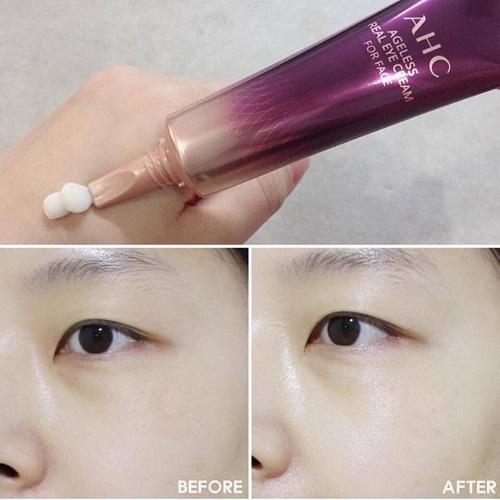 Công dụng kem dưỡng mắt AHC