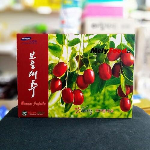 táo đỏ sấy khô Samsung Boeun Jujube