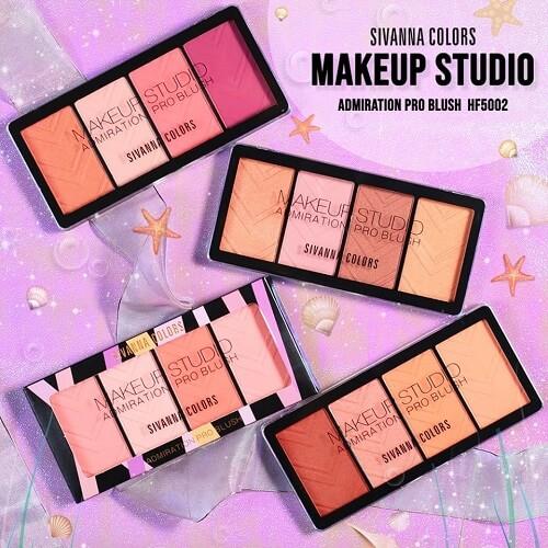 Phấn má hồng Sivanna Colors Makeup Studio