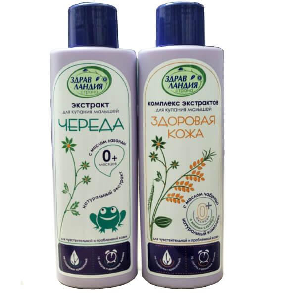 Sữa tắm thảo dược chống cảm cúm - Nga
