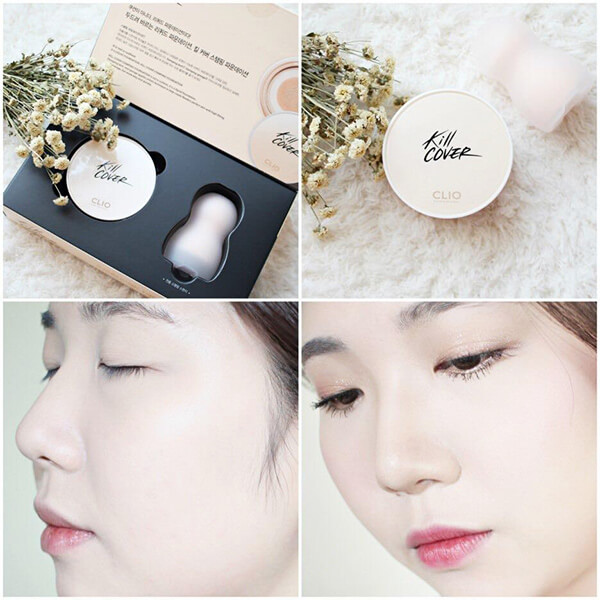 Review Phấn Nước 2in1 Kill Cover Stamping Foundation - Che Phủ , Mịn Da