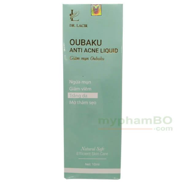 Vỏ ngoài serum trị mụn oubaku của Dr.Lacir