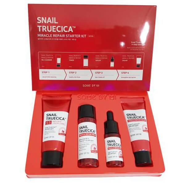 Quy cách hộp dưỡng da Some By Mi snail truecica Repair - Đỏ