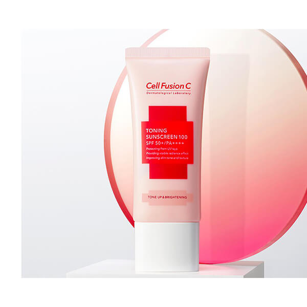 Kem chống nắng Cell Fusion c Toning sunscreen 100 spf 50+ 35ml - Vỏ hồng