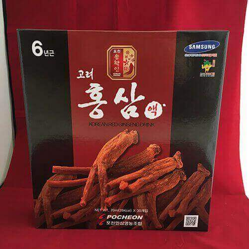 Quy cách Nước hồng sâm Pocheon hàn quốc 6 năm tuổi