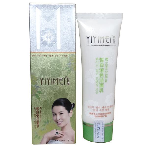 quy cách Bộ Yiyimei bán lẻ Sữa rửa mặt sạch sâu
