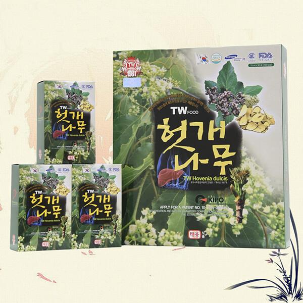 Quy cách Nước bổ gan Taewoong food Hàn Quốc