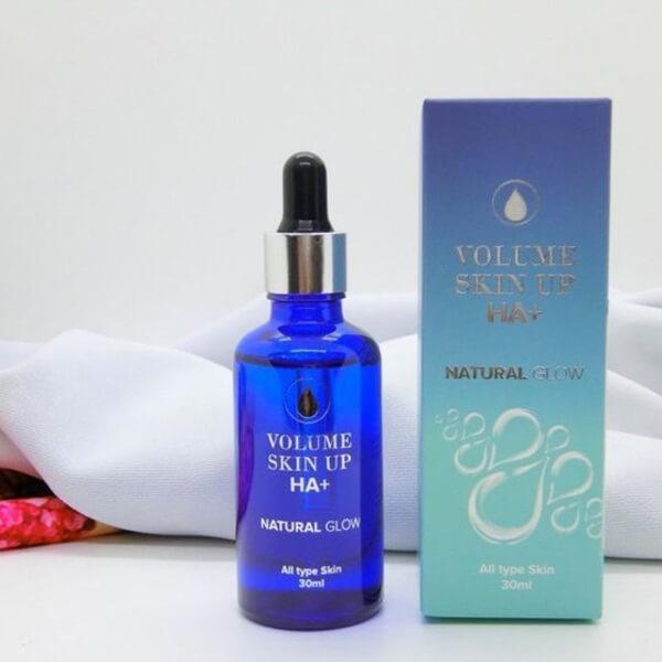quy cách Serum cấp nước dưỡng ẩm Genie Volume Skin Up HA 100ml