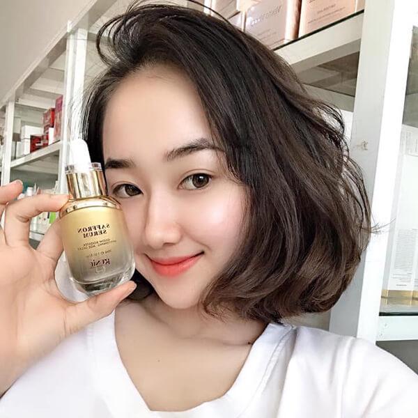 Quy cách Serum nhụy hoa nghệ tây Genie Saffron Serum 30ml Hàn Quốc