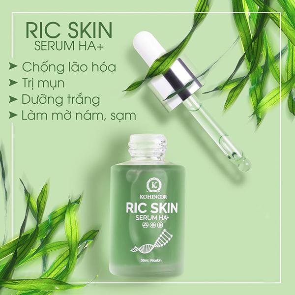 quy cách Serum Ric Skin HA+ Kohinoor chống lão hóa da