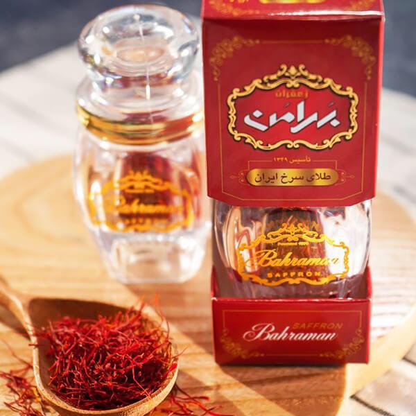 quy cách Nhụy hoa nghệ tây Bahraman Saffron dòng negin