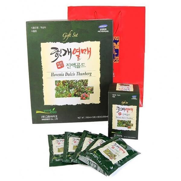 Hình ảnh: Chi tiết nướ uống bổ gan green bio hàn quốc