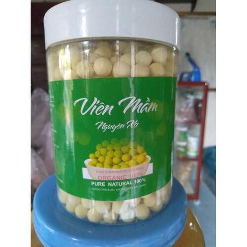 quy cách viên mầm đậu nành nguyên xơ