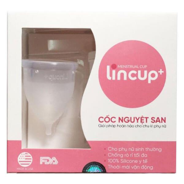 quy cách hộp chén nguyệt san Lincup Plus + của mỹ