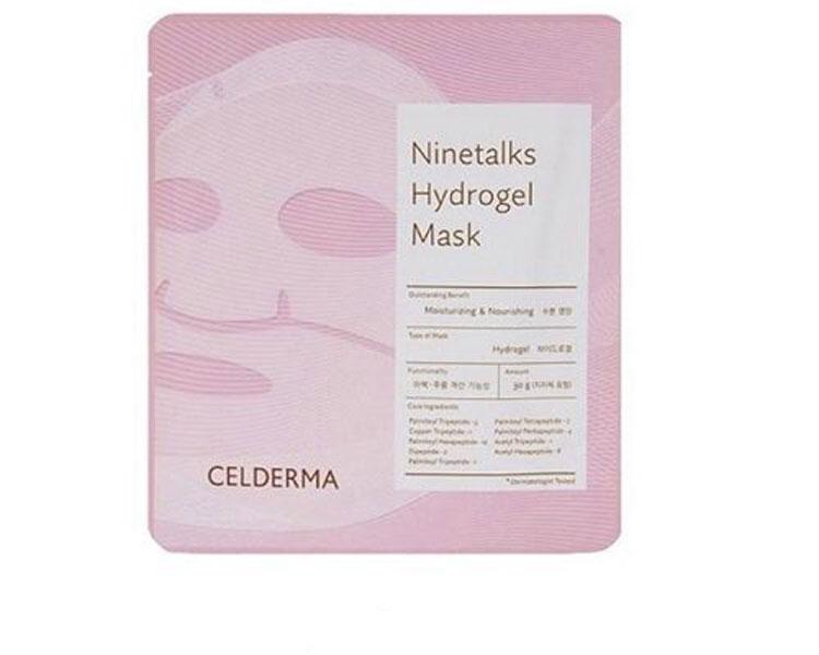 Mặt nạ thạch sinh học Celderma Ninetalks Hydrogel Mask