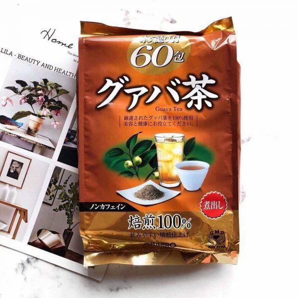 Trà ổi giảm cân Orihiro Nhật Bản 60 gói