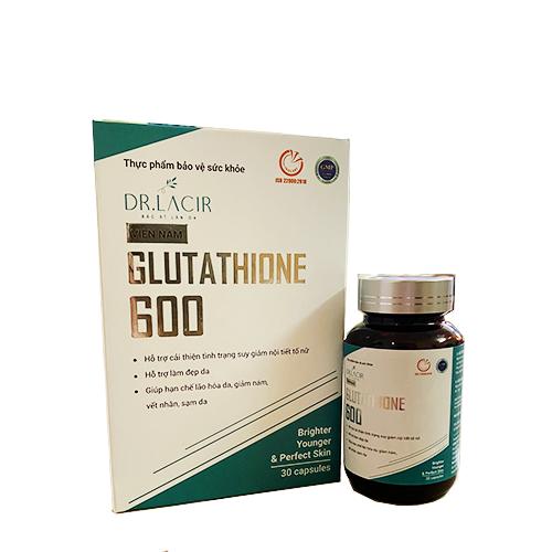 Viên uống Dr Lacir trắng da trị nám Glutathione 600