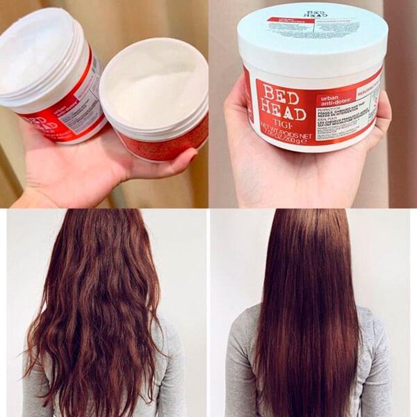 Dầu hấp ủ tóc TIGI Đỏ phục hồi siêu mềm mượt