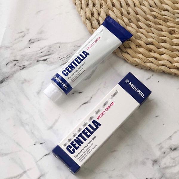 quy cách Kem trị mụn Medi Peel Centella Mezzo Cream Hàn Quốc 30ml