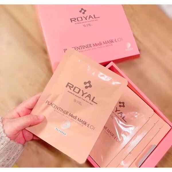 Quy cách Mặt Nạ Nhau Thai Royal Placentiner Medi Mask L