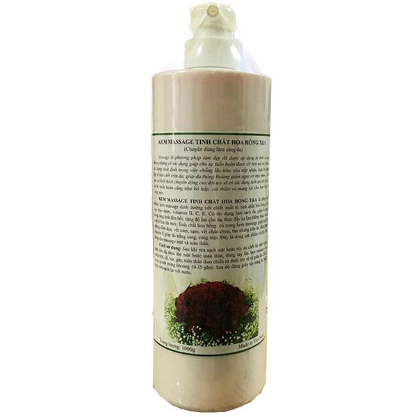 Kem massage cho SPA tinh chất hoa hồng