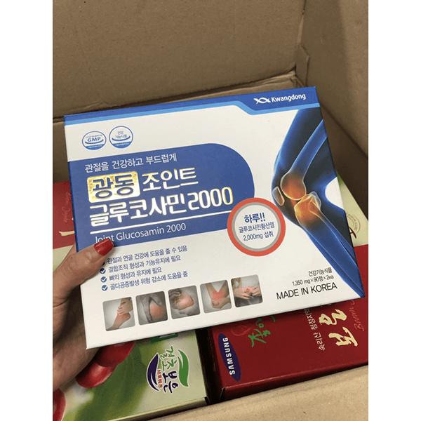 Viên Uống Bổ Khớp Glucosamin Kwangdong 90 Viên Hàn Quốc