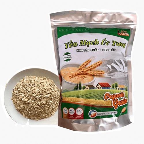 Yến Mạch Úc Tươi Organic Grain - Nguyên chất cao cấp 1KG