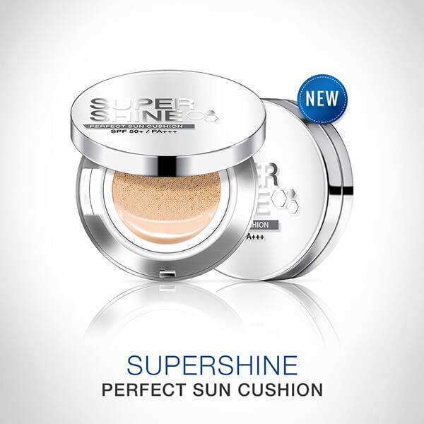 Phấn nước tế bào gốc SuperShine perfect sun cushion căng bóng